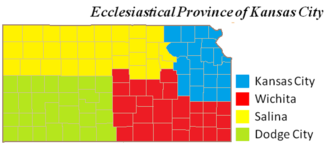 Roman Catholic Archdiocese of Kansas City in Kansas - Ecclesiastical Province of Kansas City