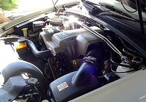Buick V6 engine - A variation of the L36 engine in a 1998 Holden VT Commodore