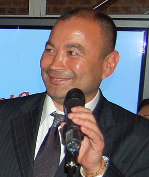 Eddie Jones (rugby union) - Image: Eddie Jones Rugby