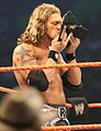 Edge before his title defense at WrestleMania XXIV.jpg