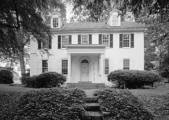Edgemont (Langhorne, Pennsylvania) - Edgemont, HABS Photo