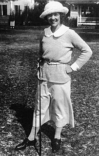 Edith Cummings American socialite and premier amateur golfer