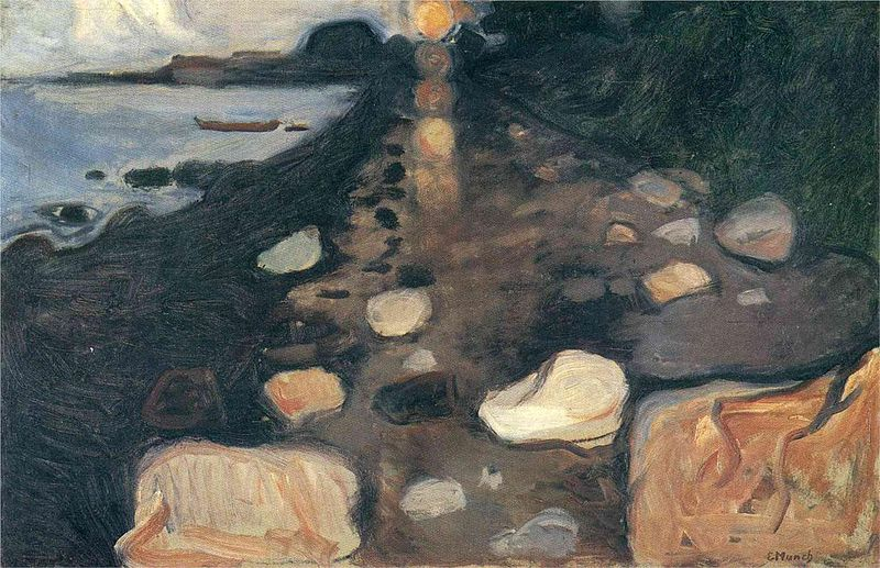 File:Edvard Munch - Moonlight on the Beach (1892).jpg