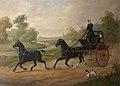 Edward Benjamin Herberte (active 1857-1893) - Edmund Wilson (1831–1934), Driving His Tandem - 884992 - National Trust.jpg