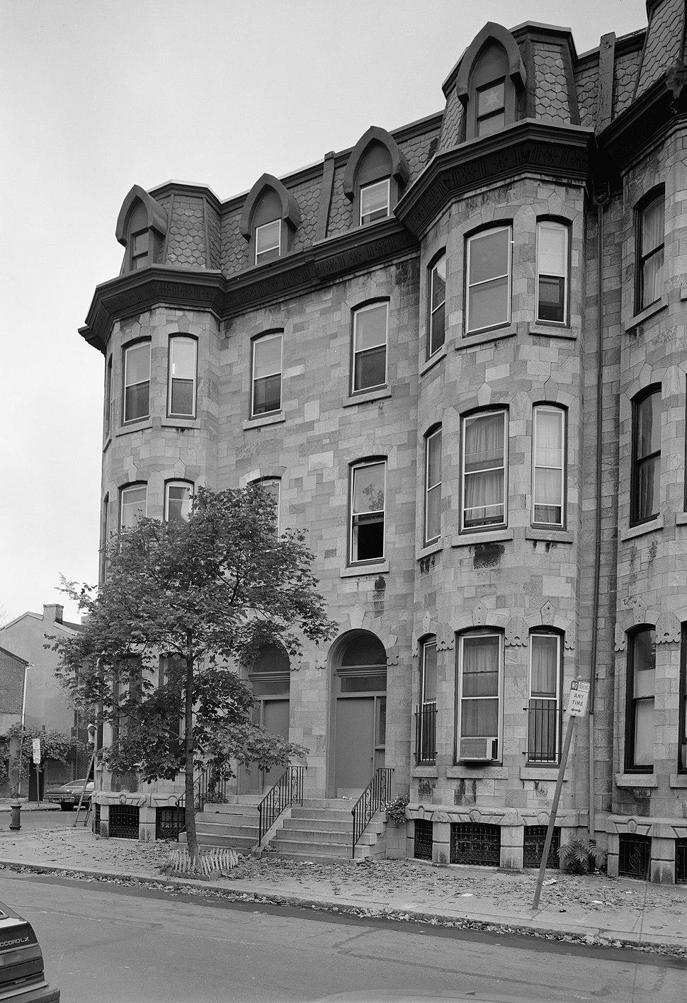 Edward Drinker Cope Houses, 2100-2102 Pine Street, Philadelphia (Philadelphia County, Pennsylvania)