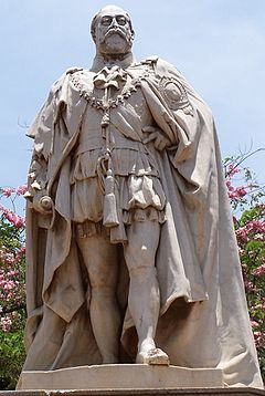 statue of edward vii bangalore wikipedia