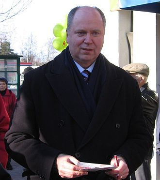 Finnish parliamentary election, 2007 - Eero Heinäluoma