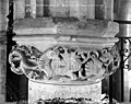 Eglise Sainte-Croix - Chapiteau du bas-côté nord - Provins - Médiathèque de l'architecture et du patrimoine - APMH00014633.jpg