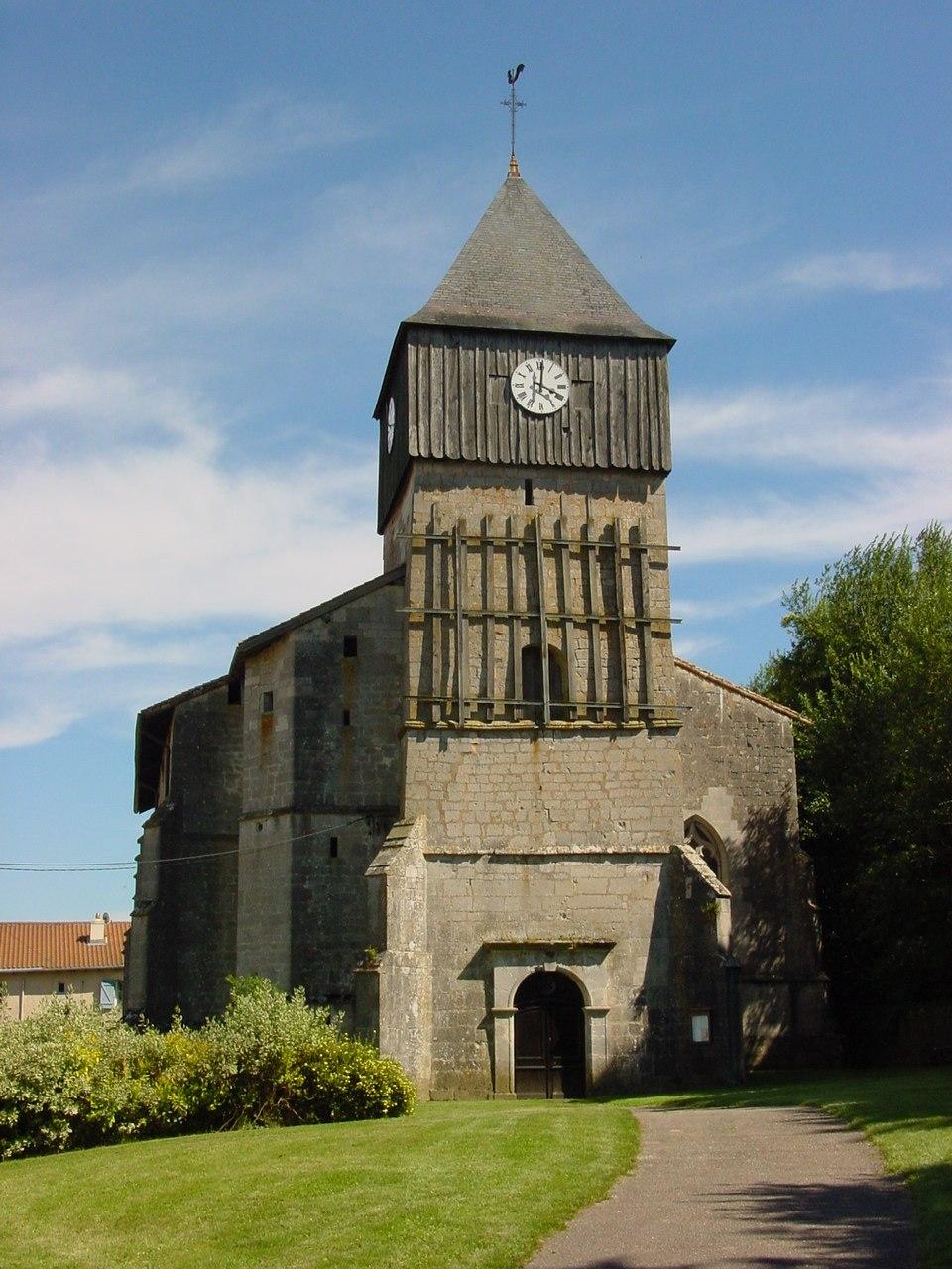 Eglise de Gironville (Meuse, France)
