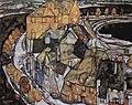 Egon Schiele - Der Häuserbogen II (1915).jpg