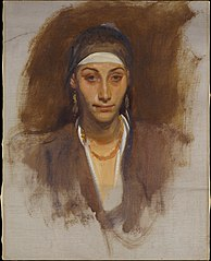 Egyptian Woman with Earrings