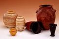 Egyptiska fornsaker, vaser - Hallwylska museet - 73402.tif
