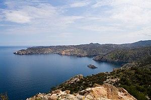 Cap de Creus -  El Golfet viewed from Cap Gros, Cap de Creus