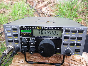QRP operation - Elecraft transceiver kit for short-wave bands