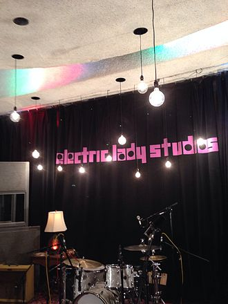 Electric Lady Studios - Studio A in 2014