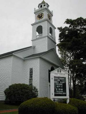 Natick, Massachusetts - Eliot Church in South Natick, Mass.