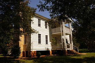 Gwinnett County, Georgia - The Elisha Winn House served as Gwinnett County's first courthouse.