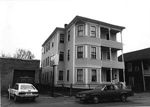 Elizabeth McCafferty Three-Decker - c. 1989 photo