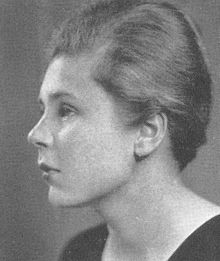 Elizabeth Bishop in 1934 as a senior at Vassar