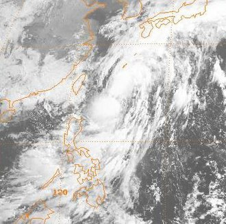 1989 Pacific typhoon season - Image: Ellis 1989062300GMS3VS