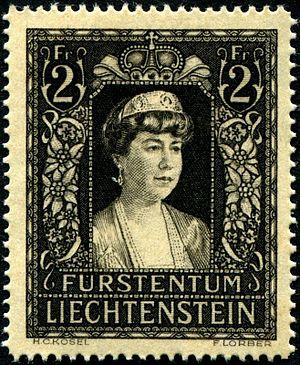 Elisabeth von Gutmann - Elsa von Gutmann commemorative stamp