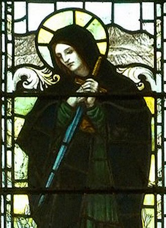 Saint Eluned - Eluned at Brecon, Wales