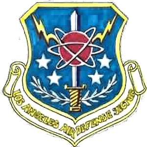 Southwest Air Defense Sector - Image: Emblem of the Los Angeles Air Defense Sector