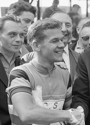 Emile Daems - Daems at the 1961 Tour de France