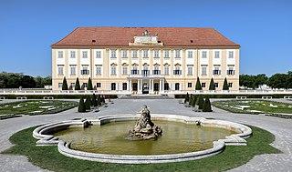 Schloss Hof building in Lower Austria, Austria