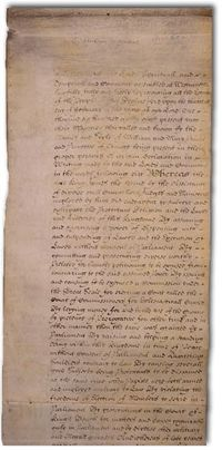 Bill of Rights 1689 - Wikipedia, the free encyclopedia