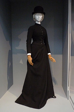 English women's riding habit c 1890 LACMA
