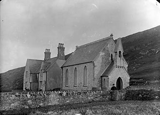 Bardsey Island - Bardsey Chapel in about 1885