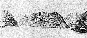 Ribeira Grande, Cape Verde - Cove of Ribeira Grande in the mid 19th century