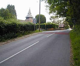 Entering Steep from the east - geograph.org.uk - 463203.jpg