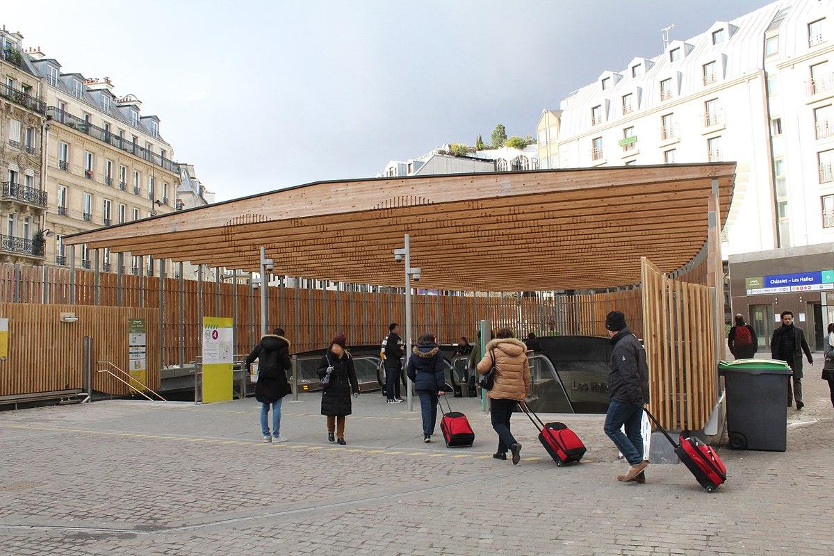 Gare De Ch U00e2telet U2013les Halles
