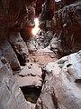 Entrée du canyon Khazali, Wadi Rum, Jordan, 6.05.2010 - panoramio.jpg