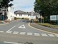 Entrance to Brecon War Memorial Hospital (geograph 2655963).jpg