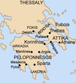 Mainland Ancient Greece