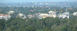 Epping, New South Wales - Epping from Pennant Hills