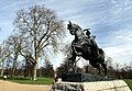 Equestrian statue called Physical Energy in Hyde Park in the City of Westminster, London in spring 2013 (7).JPG