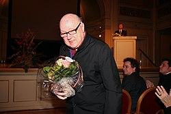 Eric Ericsson, grundlægger af Eric Ericssons kammerkor.   Koret fik Nordiska Radets musikpris ved Nordiska Radets session i Oslo.   2007-10-31.   Foto- Magnus Froderberg-norden.org.jpg