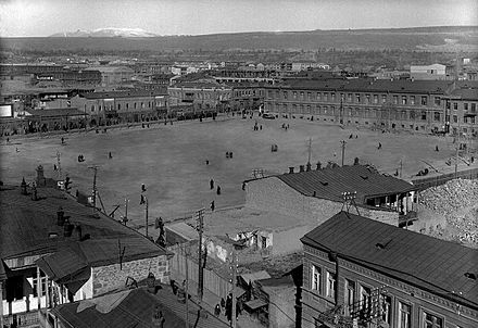 The Main Square of Yerevan, pictured in 1916 Erivan Main Square 1916.jpg