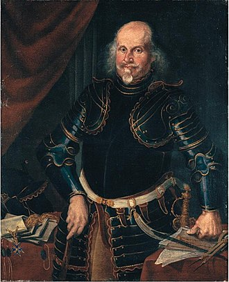 Condottieri - Portrait of a condottiero by Ermanno Stroiffi