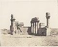 Erment (Hermonthis), Vue Générale des Ruines -Temple et Mammisi MET DP71387.jpg