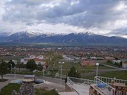 Utsikt over Erzincan