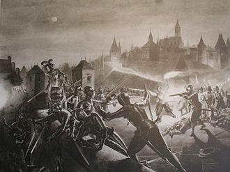 Karl Jauslin - L'Escalade, Geneva (1602)
