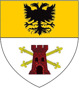 Battle of Desio - Image: Escudo Napoleón della Torre