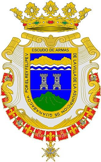 Guanabacoa - Image: Escudo de Armas de la Villa de la Asunción de Guanabacoa