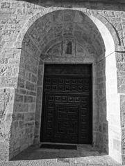 España, Aranda de Duero, Hand Carved Wooden Door, pic aaa5.jpg
