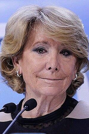 Madrid City Council election, 2015 - Image: Esperanza Aguirre 2015d (cropped)